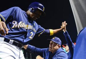 Brewers veteran Curtis Granderson thriving in another pennant race