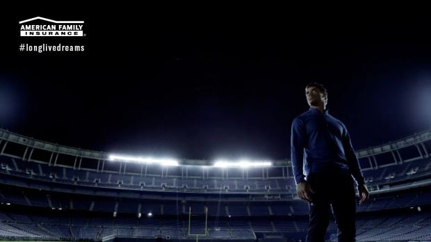 Screenshot from Russell Wilson Super Bowl ad