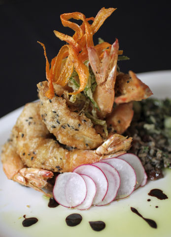 Mason's on Main shrimp tempura