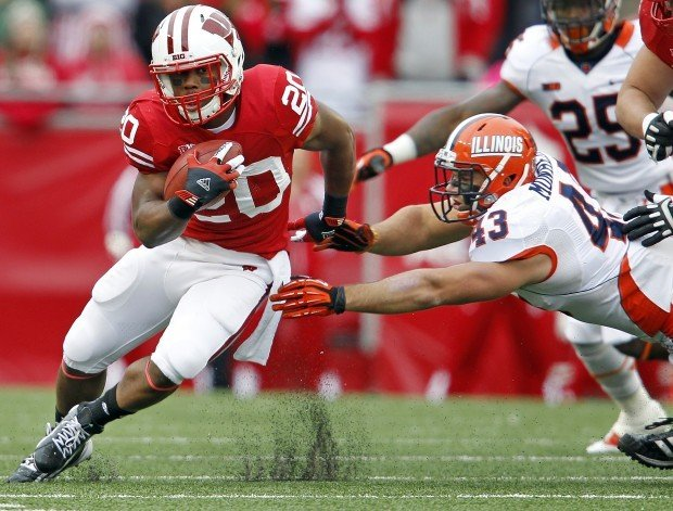 Badgers football: Tailback James White finally gets his chance ...