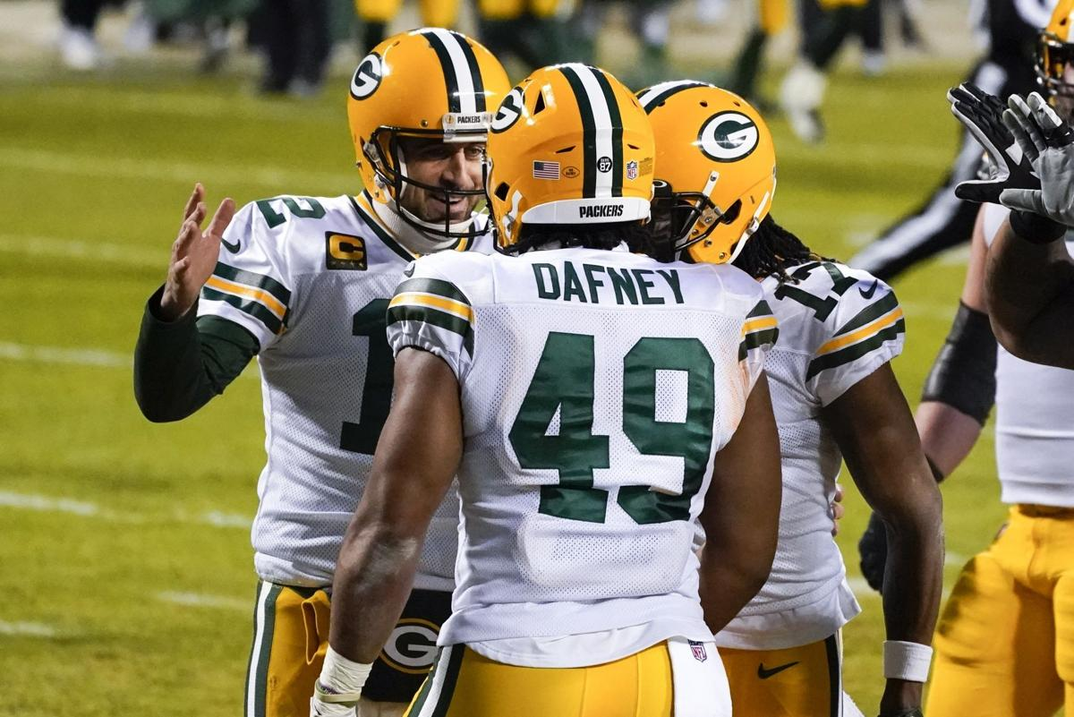 In Emerging Rookie Dominique Dafney Aaron Rodgers Sees A Young Player Who Shows The Beauty In This Game Pro Football Madison Com