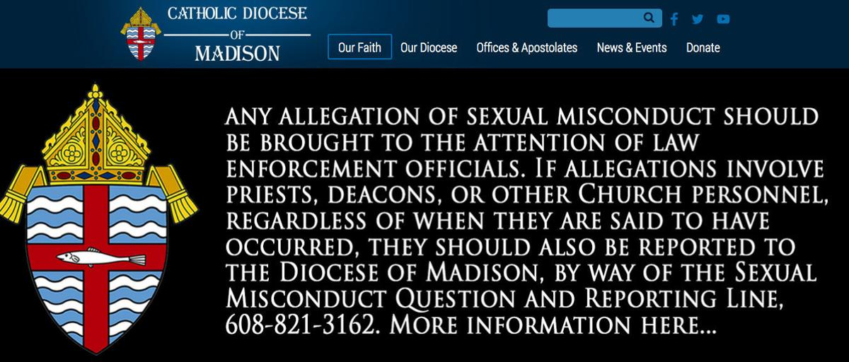 Catholic Diocese website