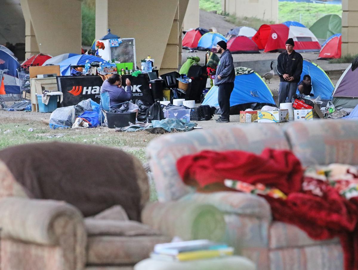 Milwaukee homeless tent city