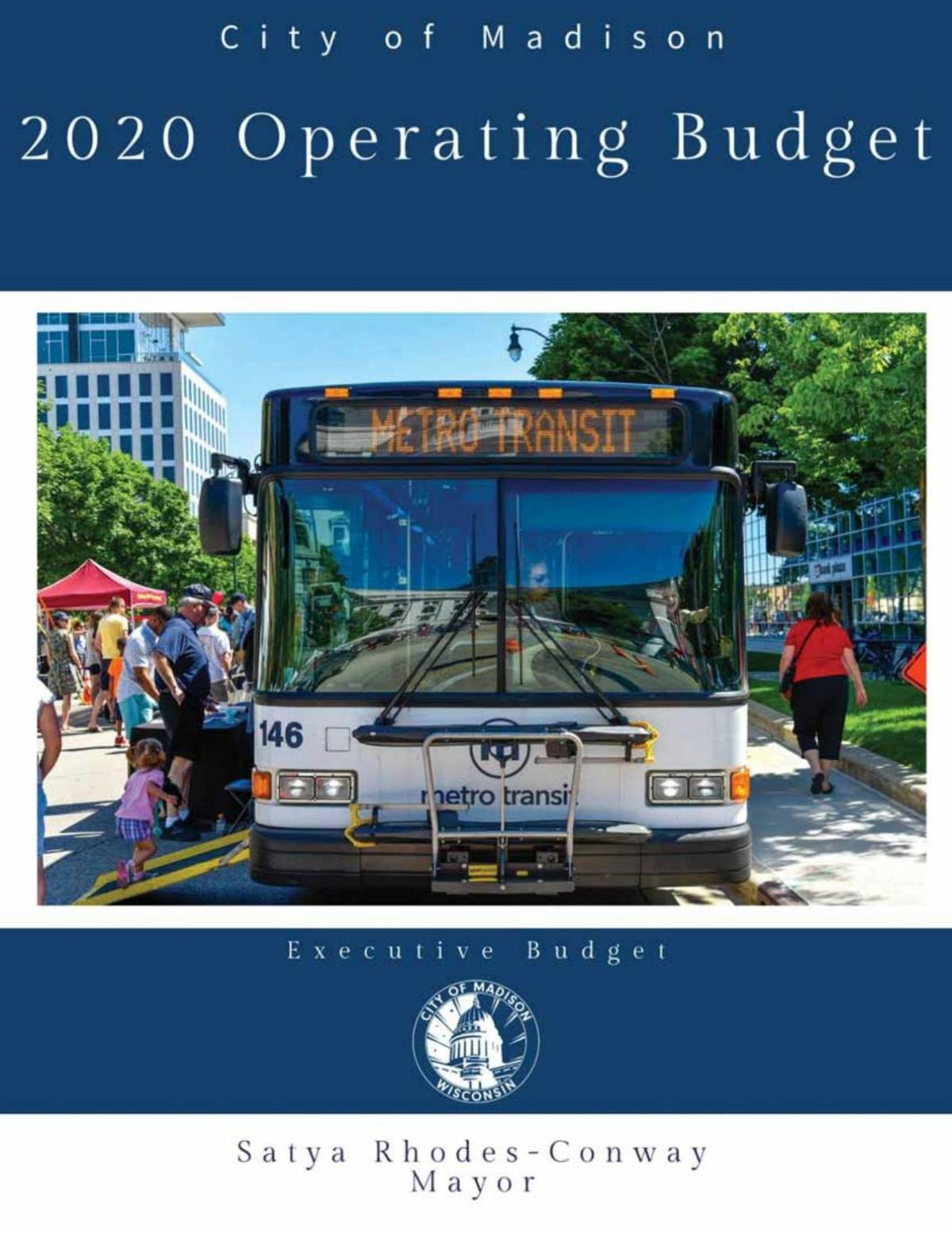 2020 proposed Madison operating budget