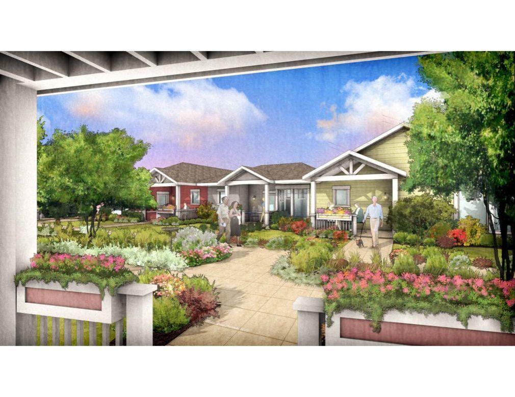 """Rose Villa """"pocket neighborhood"""""""