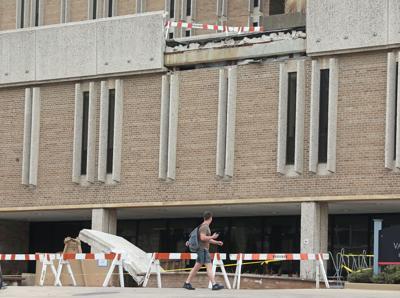 Van Hise Facade Collapse