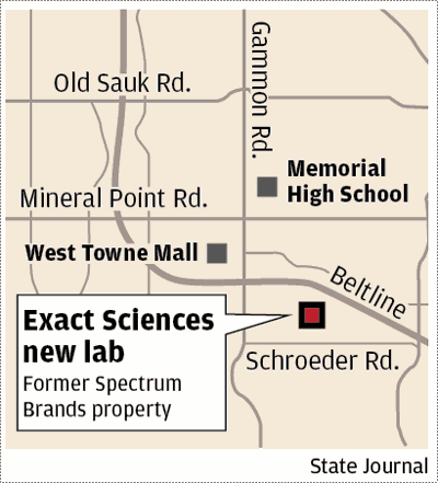 Exact Science lab map