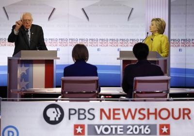 Sanders and Clinton debate in Milwaukee (copy)