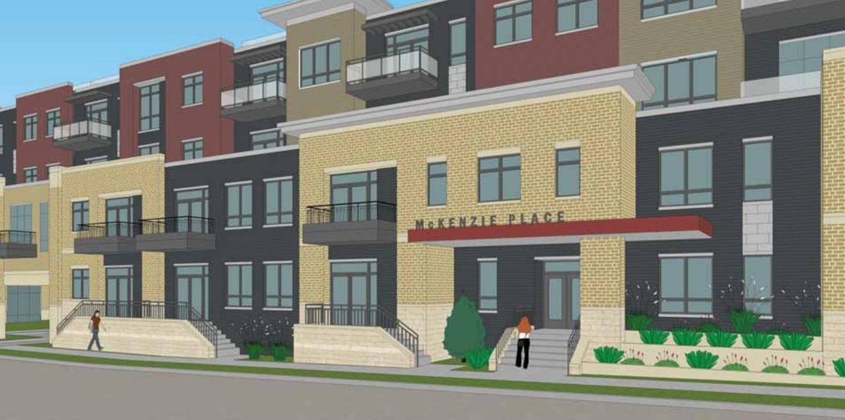 McKenzie Place apartment entry