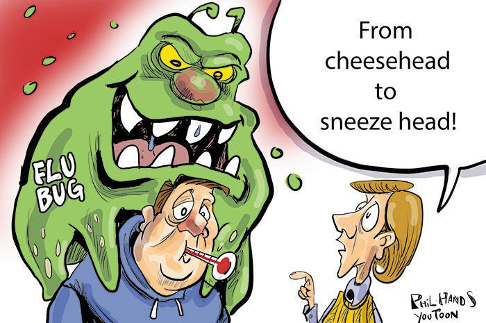 Flu Bug You Toon
