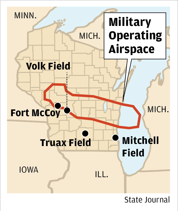 Military Operating Airpace