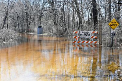 Flooding on Blackhawk Road in April 2019 (copy)