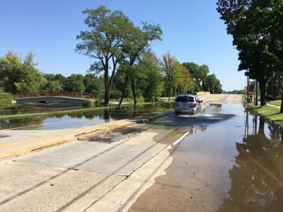 East Johnson Street flooding