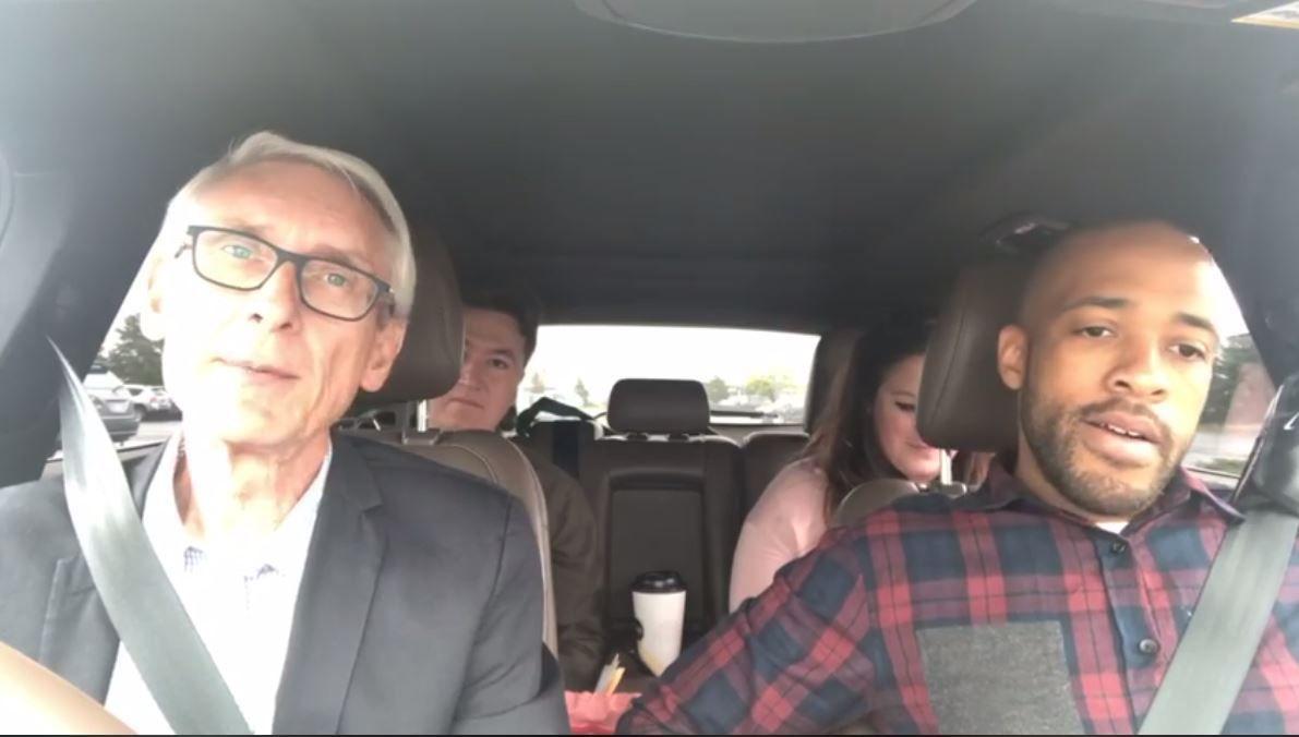 Democratic candidates mock Scott Walker's short plane ride