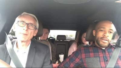 Democratic candidates mock Scott Walker's short plane ride