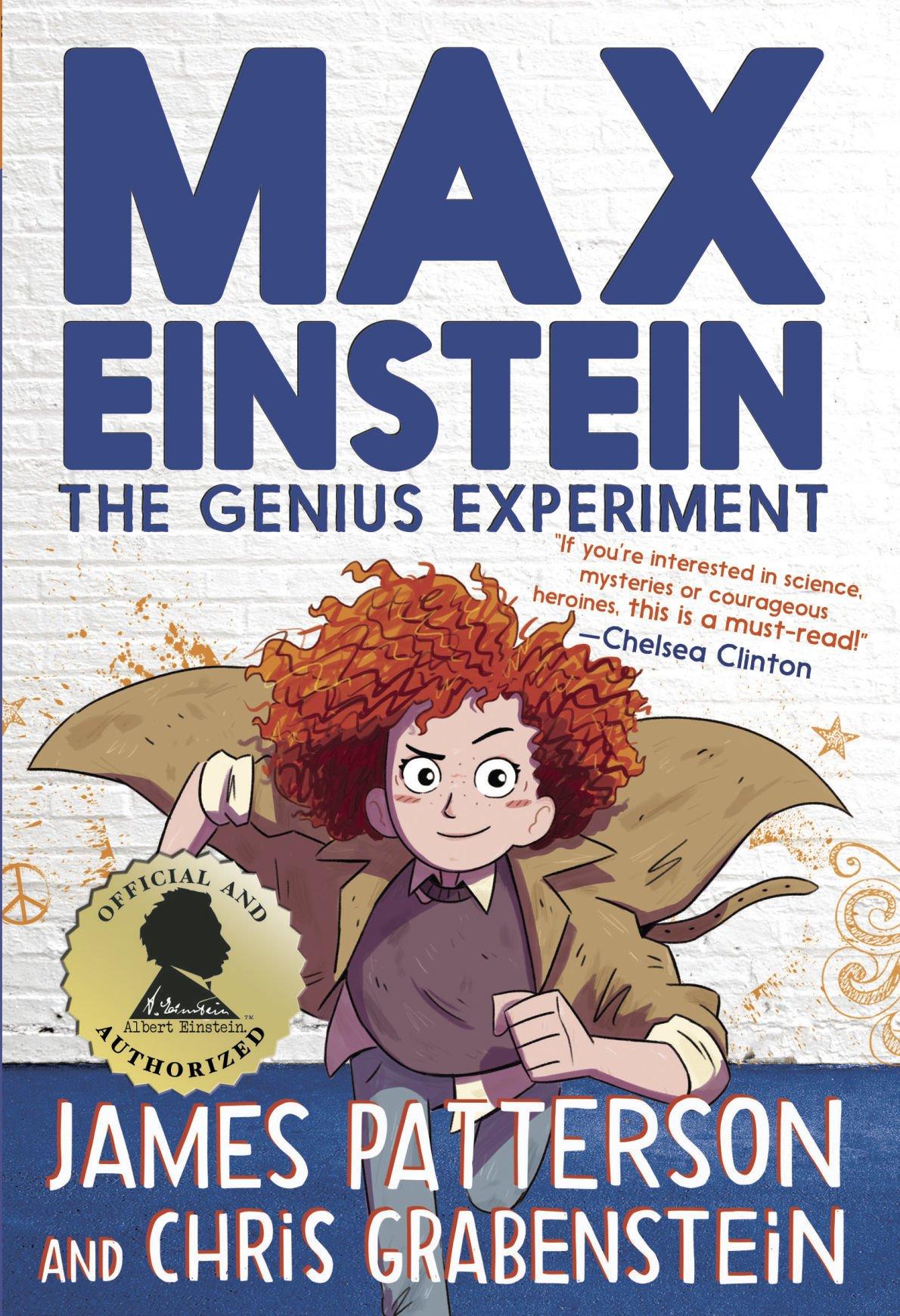 "Cover of ""Max Einstein: The Genius Experiment"""