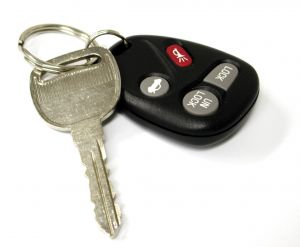 Car keys - with State Farm insurance discount with monitoring system
