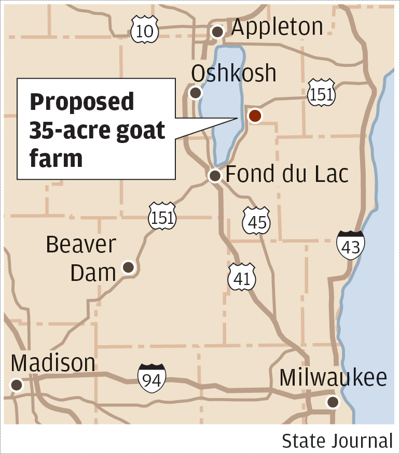 Calumet County goat farm