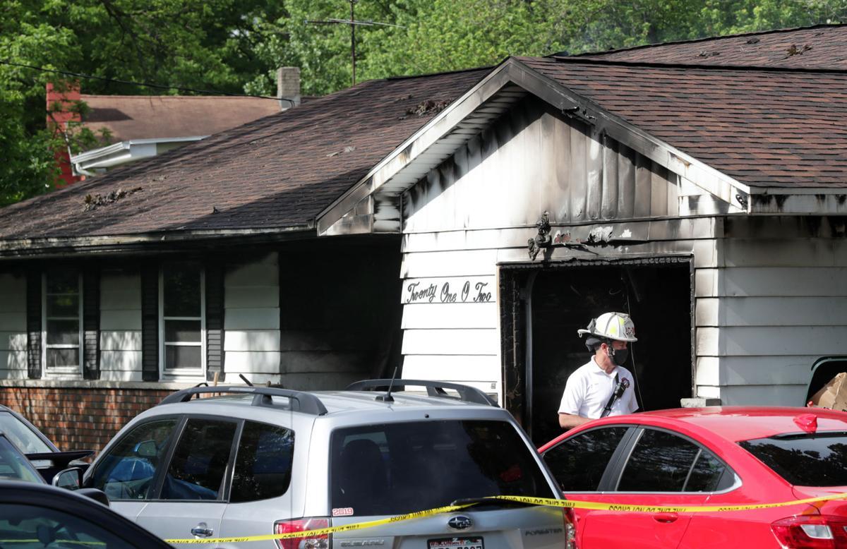 House fire on Seminole Highway 2
