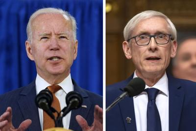 Joe Biden Tony Evers mashup