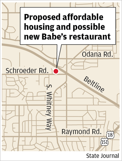Affordable housing and Babe's map