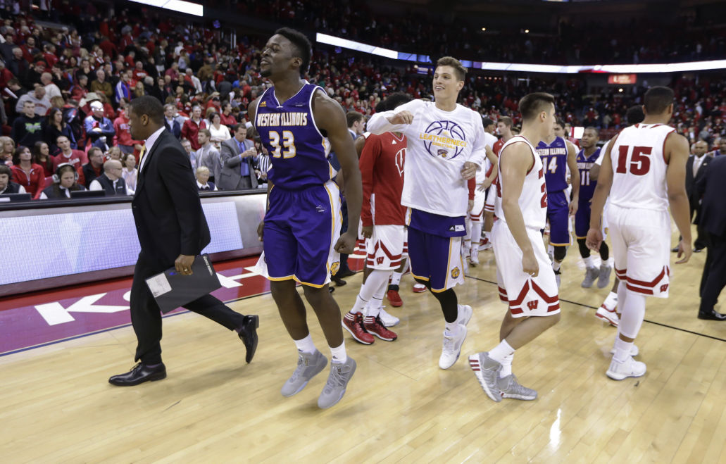 premium selection 90b3d a37ea Badgers men's basketball: Western Illinois stuns UW in ...