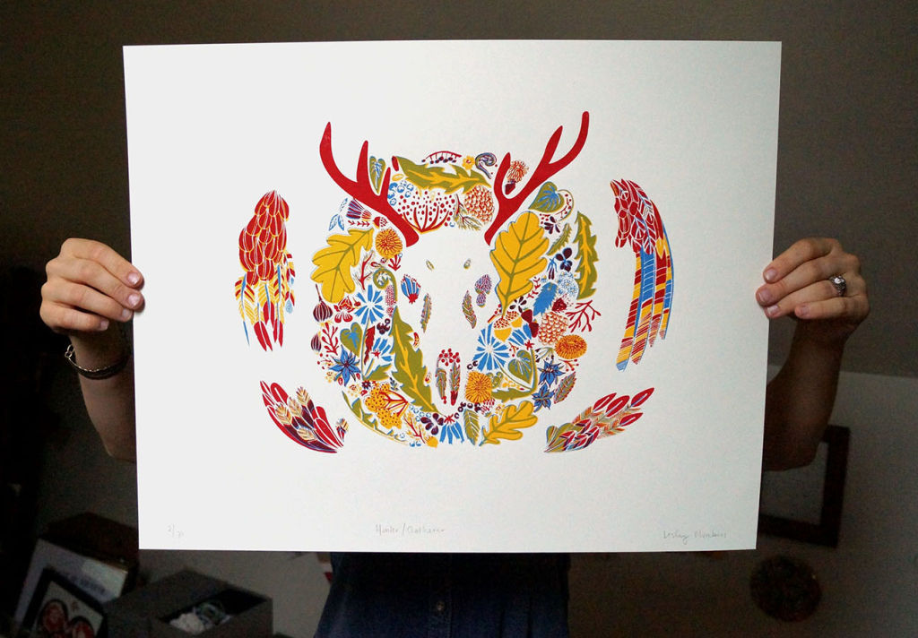 Hunter/Gatherer print