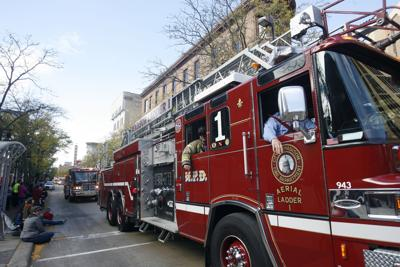 Madison Fire Department truck generic file photo