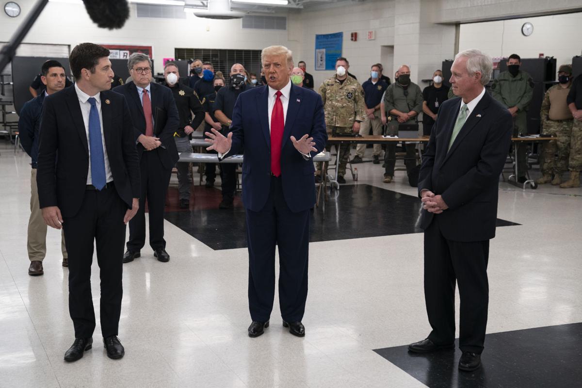 Trump and Ron Johnson (copy)