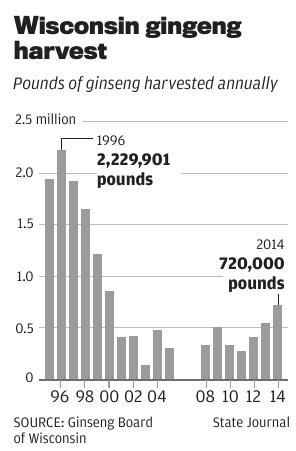 Ginseng continues rebound in central Wisconsin | Local News