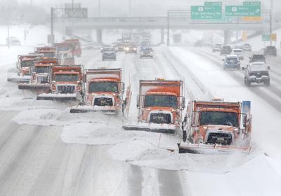 Snow plow armada
