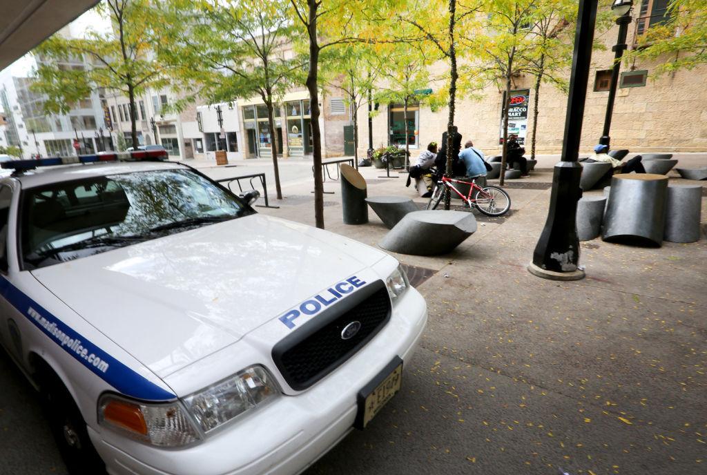 Philosophers Grove police vehicle