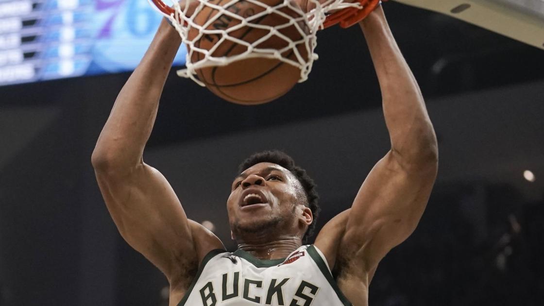 Giannis Antetokounmpo fuels third-quarter run that sends Bucks past 76ers