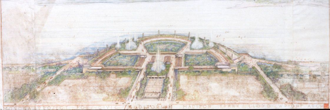 Olin Terraces 1930s