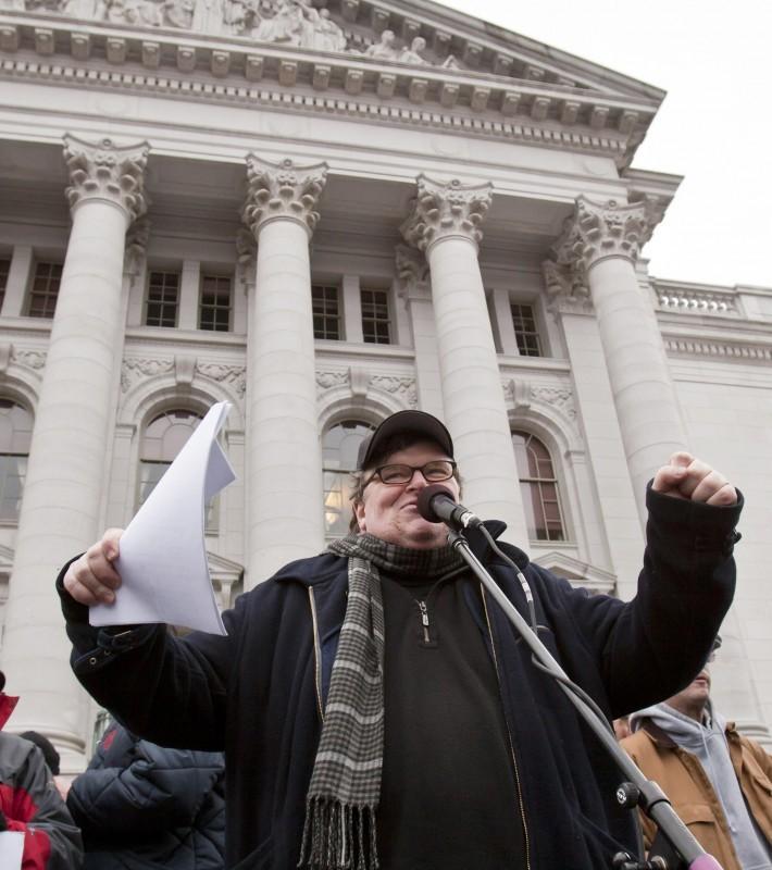 Wisconsin Budget, Michael Moore