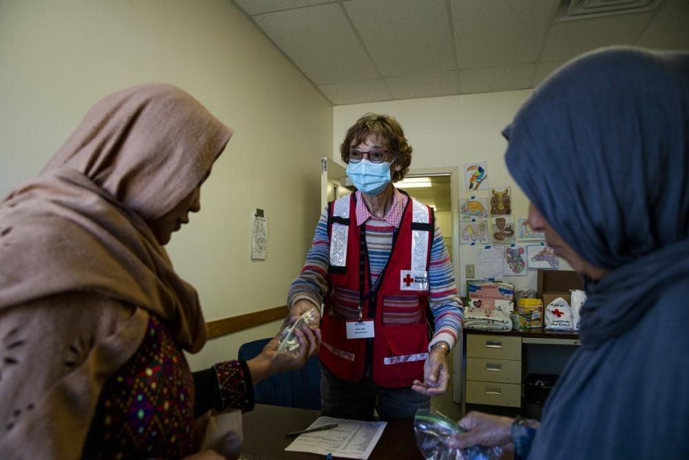 Fort McCoy Red Cross Photo