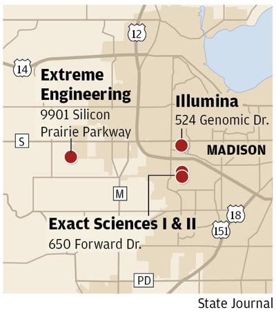 Jobs TIF map