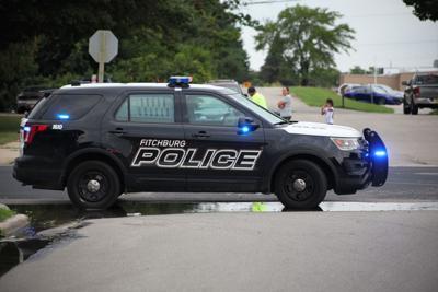 Fitchburg police squad car