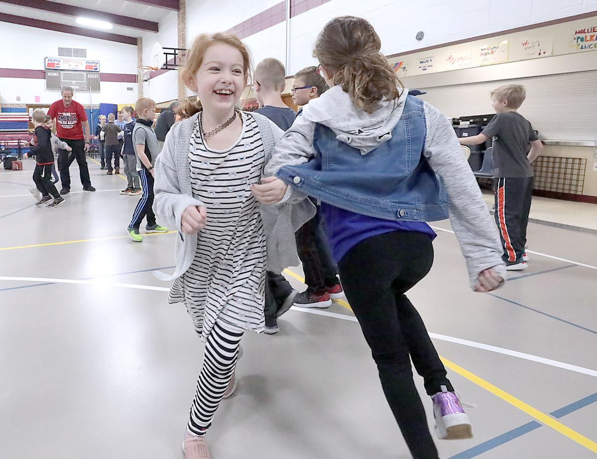 Students learn to polka, polka, polka