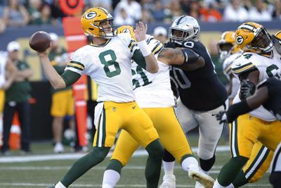 Tim Boyle - Packers vs. Raiders