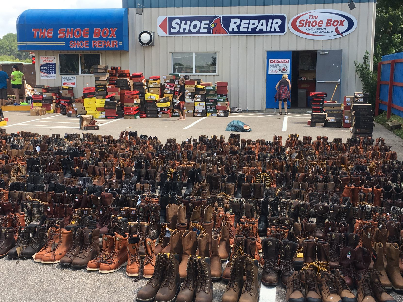 Black Earth's Shoe Box back in business