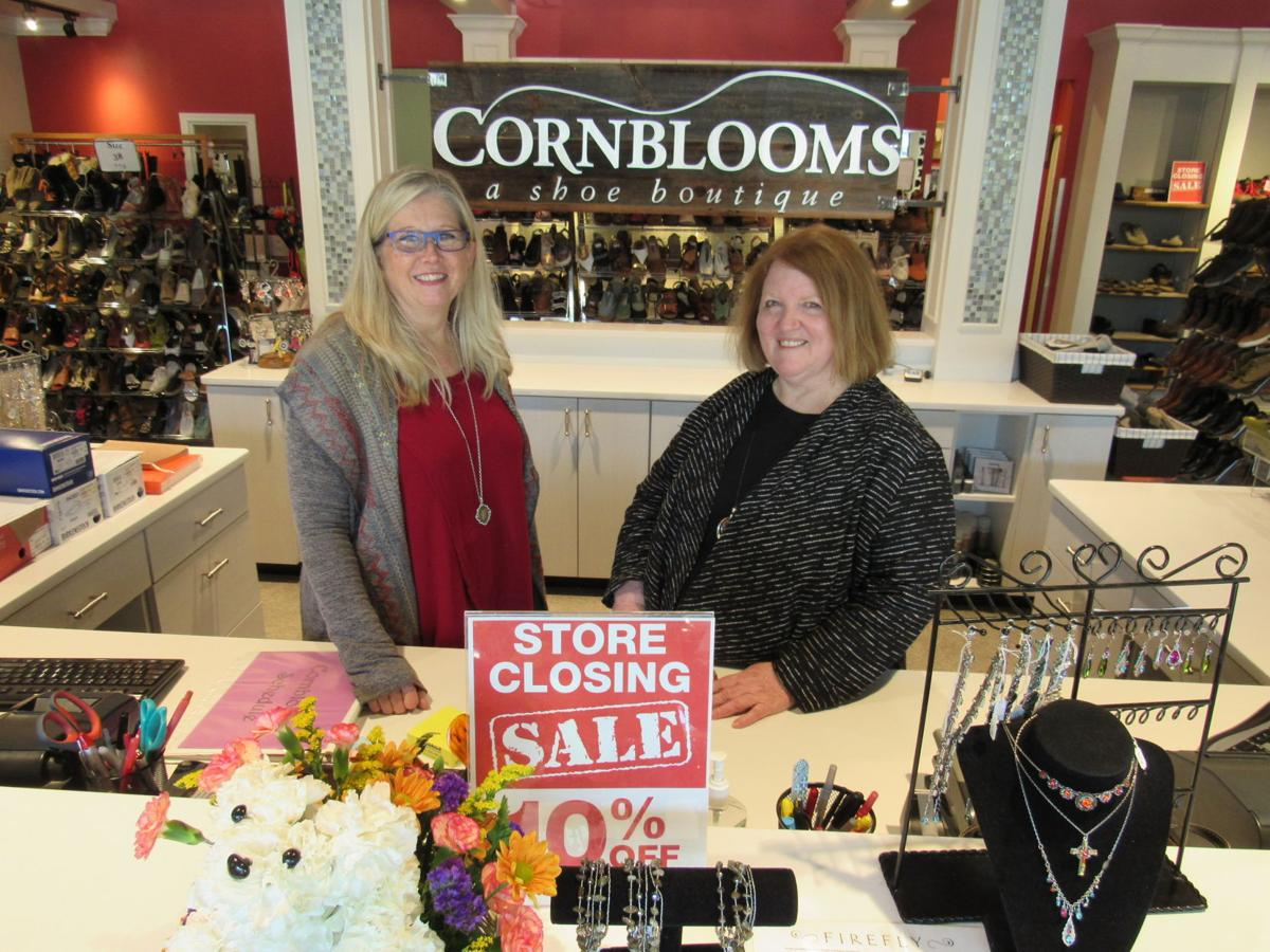 32fad85102 Cornblooms closing after more than 4 decades of shoe sales