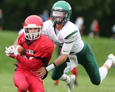 Prep football photo: Eight-player teams Madison Abundant Life, Wisconsin Heights do battle