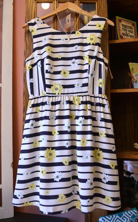 Purple Goose daisy dress