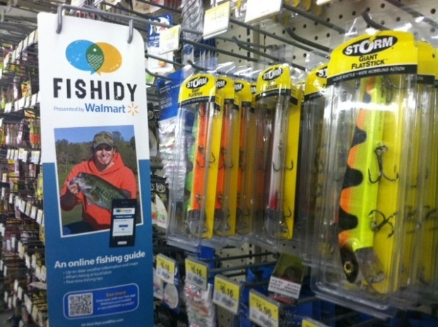 Fishidy at Wal-Mart