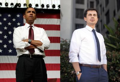 Obama Buttigieg mashup
