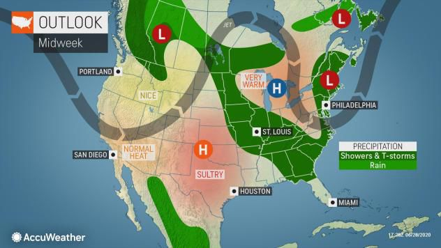 Thunderstorms expected for southern Wisconsin Monday amid hot week ...