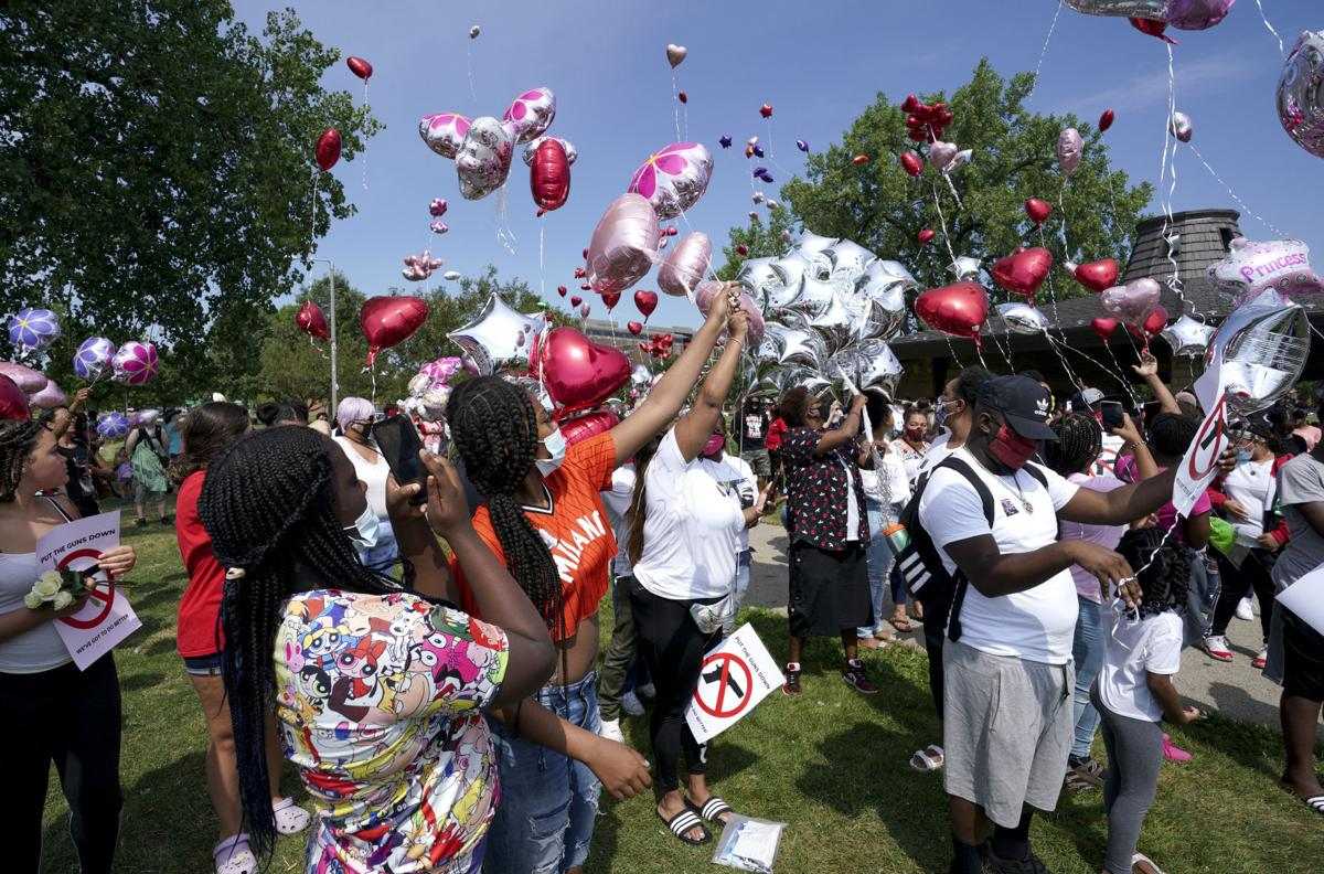 Mourners gather in park (copy)