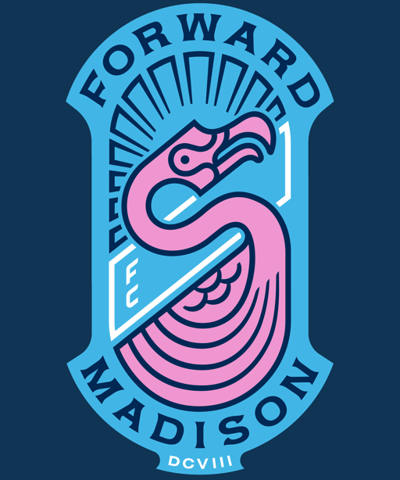 Madison Forward soccer team logo