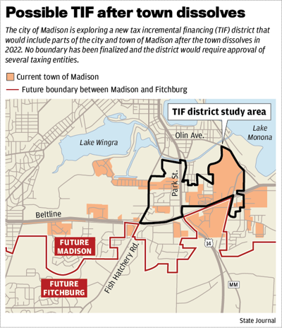 Possible TIF after town dissolves